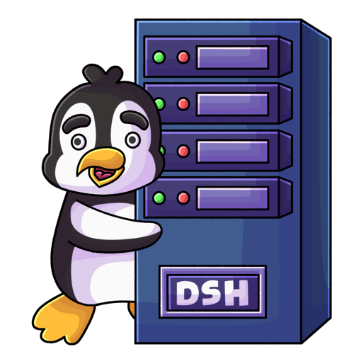 DeinServerHost Pinguin